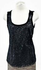ELIE TAHARI Nina Embellished Sleeveless Top :: SEXY!! Lace + Sequins :: NEW!!