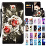 For Samsung Galaxy S10 Plus S9 S8 Leather Flip Pattern Case Stand Wallet Cover