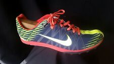 Nike Men 11 Waffle XC Track Running Shoes Blue Green Athletic Light 526317