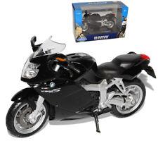 BMW K1200s K1200 S K 1200 Schwarz 1/18 Welly Modellmotorrad Modell Motorrad