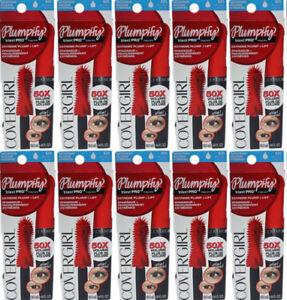 (10) Covergirl Plumpify blast PRO Mascara Extreme Plump & Lift WP 825 Very Black