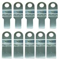 10x TopsTools Multitool Blade for Worx Sonicrafter Ryobi Erbauer AEG Multi Tool