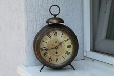 Vintage Old German Made Junghans  Desk Alarm Clock.