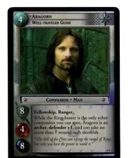 LORD OF THE RINGS LOTR TCG AE AGES END 19P12 ARAGORN, Well-Traveled Guide CARD