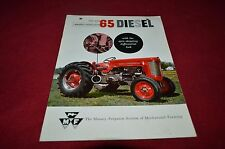 Massey Ferguson 65 Diesel Tractor Dealers Brochure YABE12