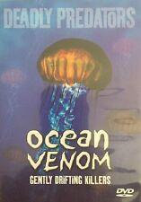 Deadly Predators DVD Ocean Venom  🇦🇺 New Sealed Free Postage Australia