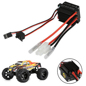 Waterproof 320A Brushed ESC Electric Speed Controller for RC Car Boat Ship Motor