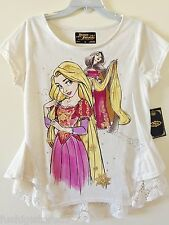 Disney Store Rapunzel & Mother Gothel Fairytale Designer Lace Top Shirt Large L