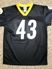 TROY POLAMALU STEELERS FOOTBALL JERSEY NFL Extra Large XL TEAM APPAREL KIDS