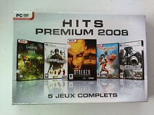 Coffret 5 jeux Hits Premium 2008 THQ (Stalker/Titan Quest deluxe/warhammer) PC