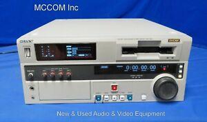 Sony DSR-1800 DVCAM Player w/ 1410 tape hrs, DV & SDI Options