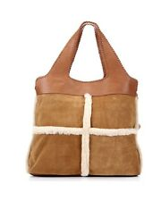 UGG Women's Quinn Tote WTE061 Leather/Suede  MSRP: $395