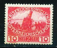 Austria WW1 Big Gun Artillery stamp 1917 MLH