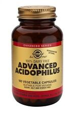 Solgar, Advanced Acidophilus (Non-Dairy) Vegetable Capsules, 100