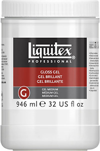 Liquitex Professional Gloss Gel Medium, 946 ml