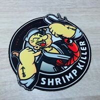 Jiu Jitsu Gi Patch Skrimp on Kimono  MMA UFC  Grappling BRAZIL fightwear