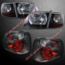 01-03 FORD F-150 SUPERCREW SVT STYLE HEADLIGHTS + CORNER + ALTEZZA TAIL LIGHTS