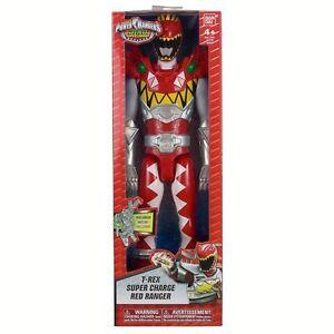 Power Rangers Dino Super Charge 30cm Figure T-Rex Super Charge Ranger 43131