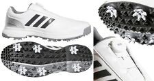 Adidas CP Traxion BOA Golf Shoes - RRP£100 - WIDE FIT - All Sizes In Stock White