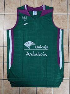 Baloncesto Malaga 20/21 Home Blank Authentic Jersey Joma Men's sz LARGE