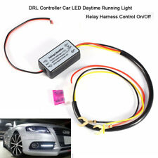Car Led Daytime Running Light Relay Harness DRL Control ON OFF Automatic Dimmer^