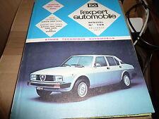REVUE TECHNIQUE EXPERT AUTO RTA N° 138 1977 ALFA ROMEO ALFETTA 1600 1800 2000