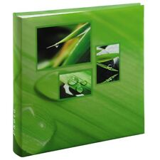 "Large Green Leaf Grass Nature Photo Album Case Book 100 Pages for 6 x 4 "" Photos"