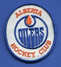 "Alberta Oilers Wha Oval 3 1/8"" x 3 1/2"" Embroidered Patch - 13163"