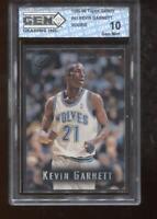 Kevin Garnett RC 1995-96 Topps Gallery #41 Timberwolves ROOKIE GEM MINT 10