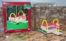 Carlton Cards McDonald's Golden Arches Miniature Restaurant Christmas Ornament