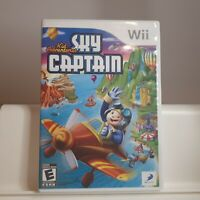 Kid Adventures: Sky Captain  - Nintendo Wii Authentic/Cleaned/Tested