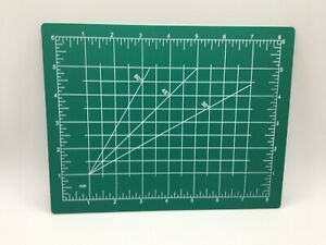 Cutting Mat Self Healing Sewing and Crafts USA Measurements Art Hobby