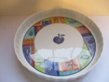 "DOULTON  ~  ""TRAILFINDER""  ~ 1997 ~ FLUTED QUICHE/PIE/ SERVING DISH"