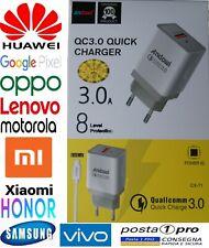 Ladegerät ⚡ 18W + USB Kabel Type C Neu Laden Samsung Huawei Oppo