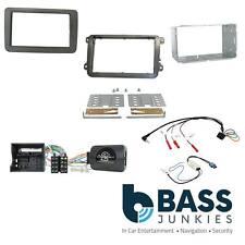 VW T6 Car Stereo Double Din Fascia Panel & Steering Wheel Interface Kit CTKVW16