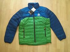 RLX Ralph Lauren down Explorer Jacket, XL, two-tone Navy + Green, NWT, Free S&H