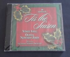 OLIVIA NEWTON-JOHN AND VINCE GILL CHRISTMAS CD - 'TIS THE SEASON HALLMARK