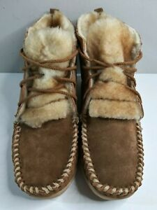Orvis womens 9 moccasin bootie slipper shoes