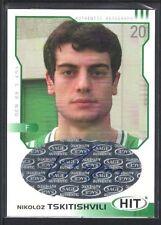 NIKOLOZ TSKITISHVILI 2002 SAGE HIT SILVER #H19 AUTOGRAPH BENETTON TREV SP $15