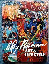 Leroy Neiman - Art & Life Style '74 1st Edition -- FREE Shipping!