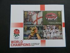 2003  ENGLAND RUGBY WORLD CHAMPIONS  MINI SHEET  IN MINT CONDITION