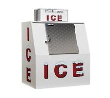 Master-Bilt IM-38 Outdoor Bagged Ice Merchandiser w/ 125 (8lb.) Bag Capacity