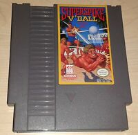 Super Spike V'Ball Volleyball Nintendo NES Vintage original retro game cartridge