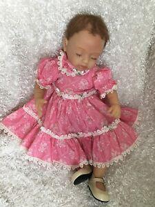 Ashton Drake Galleries Reborn Baby Doll, Vinyl Girl, Artist Mayra Garza - Katie