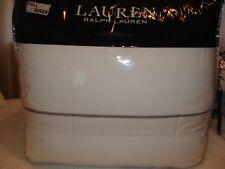 Nip Ralph Lauren 3 Piece Full / Queen Comforter Set Coleman Pattern