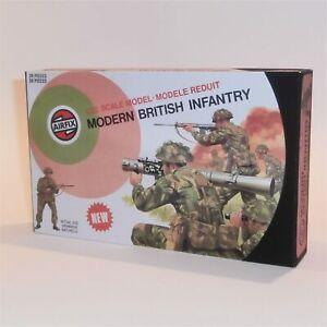 Airfix Empty Repro Box Modern British Infantry 1:32 Scale #51472
