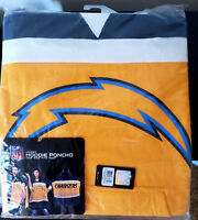 San Diego Chargers Hoodie Sweatshirt Poncho One Size Fits Most