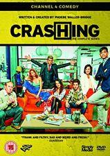 Crashing - The Complete Series [DVD] E4 Original Comedy [DVD][Region 2]