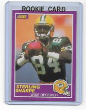 Sterling Sharpe 1989 Score Supplemental Update Rookie Card #333s