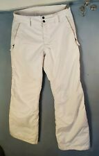 The North Face Women's White Hyvent Snow Pants Size s